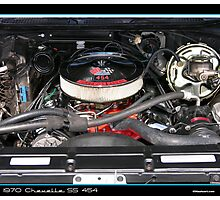 Chevelle 1970 Engine 454 Photographic Print