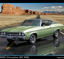 Chevelle 1969 Green by 454autoart