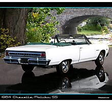 Chevelle 1964 Convertible Photographic Print