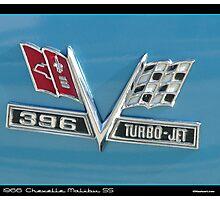 Chevelle Emblem Photographic Print