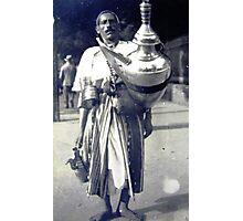 The Tea Seller Photographic Print