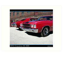 Chevelle 1970 Pair Art Print