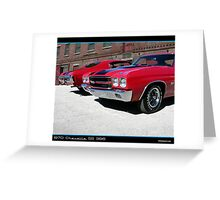 Chevelle 1970 Pair Greeting Card