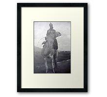 Desert Legionaire Framed Print