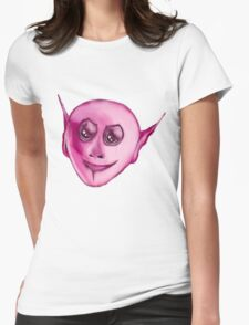 Pink Creature Womens Fitted T-Shirt