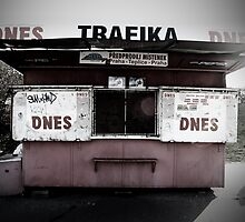 Czech Food stand by sephoto