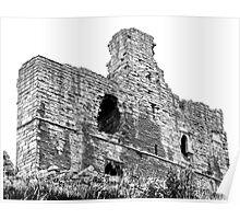 Norham Castle Interior Poster