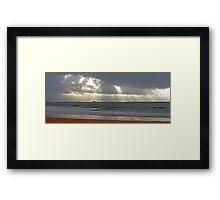 praia da torre Framed Print