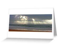 praia da torre Greeting Card