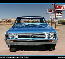 Chevelle 1967 Front by 454autoart