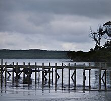 Storm clouds over Jetty by pennyswork