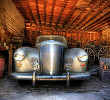 In the Garage by Garry Quince