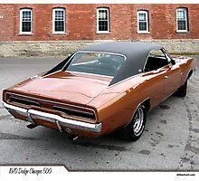 Dodge Charger 1970 Photographic Print