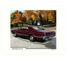 1966 Oldsmobile Cutlass 442 Art Print