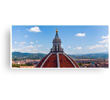 Postcard from Florence (Firenze) Canvas Print