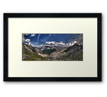 Im Karwendel Framed Print