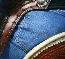 Denim, Leather & Silver by Emily Peak