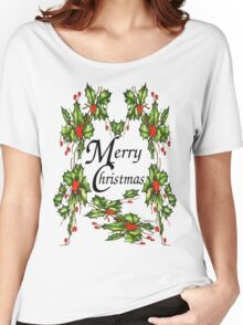 Holly, Holly, Holly (for light t's) Women's Relaxed Fit T-Shirt