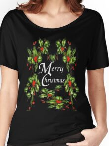 Holly, Holly, Holly, (for dark t's) Women's Relaxed Fit T-Shirt