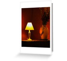After The Sun Sets Greeting Card