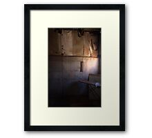 Ironing Board Framed Print