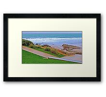 morning rain... Framed Print