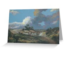 Landscape after Gainsborough Greeting Card
