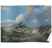 Landscape after Gainsborough Poster