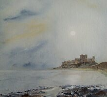 Bamburgh Castle by Alan Harris