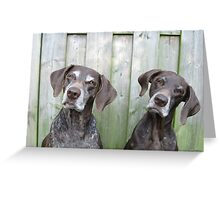 Pointer Sisters Greeting Card
