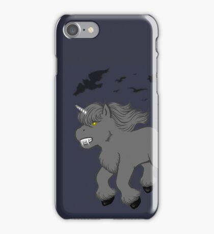 Horror Movie Unicorns: Wolfman iPhone Case/Skin