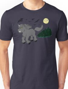 Horror Movie Unicorns: Wolfman Unisex T-Shirt