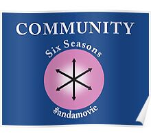 Community: Six Seasons #andamovie Poster