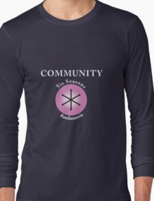 Community: Six Seasons #andamovie Long Sleeve T-Shirt