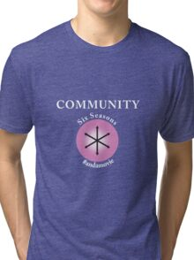 Community: Six Seasons #andamovie Tri-blend T-Shirt