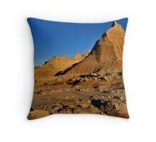 Sandy Peaks Throw Pillow
