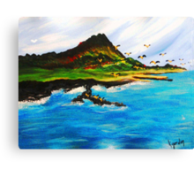 Le'ahi..............Before They Came Canvas Print