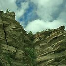 Cliffs at Big Bend National Park by Susan Russell