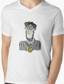 Medal Mens V-Neck T-Shirt