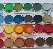 watercolors by portosabbia