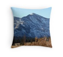 """Eastern Sierras"" Throw Pillow"