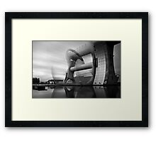 Steamotion Framed Print