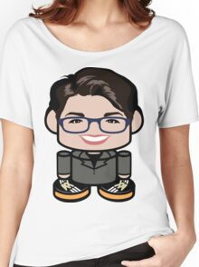Rachel Maddow Politico'bot Toy Robot 1.0 Women's Relaxed Fit T-Shirt