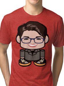 Rachel Maddow Politico'bot Toy Robot 1.0 Tri-blend T-Shirt