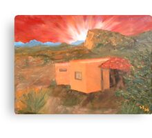 Adobe #16 Canvas Print
