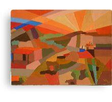 Adobe #27 Canvas Print