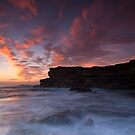 Fire and Ice, Little Bay NSW by Malcolm Katon