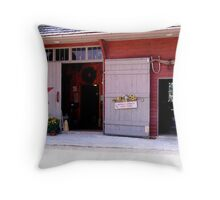 Buffalo Springs Herb Farm Throw Pillow