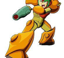Mega Man X Varia Suit by BakaRyuuStudios