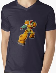 Mega Man X Varia Suit Mens V-Neck T-Shirt